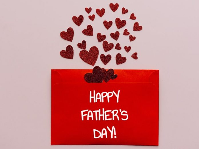handmade father's day cards kids ideas red envelope hearts