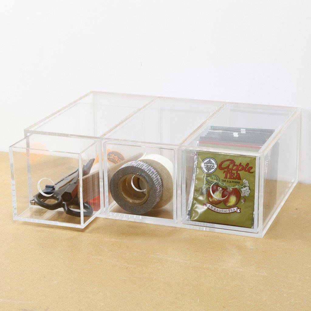 acrylic box muji style home