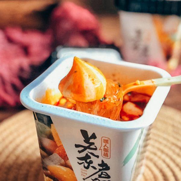 hei ren bu luo mala oden suan la fen spicy instant noodles