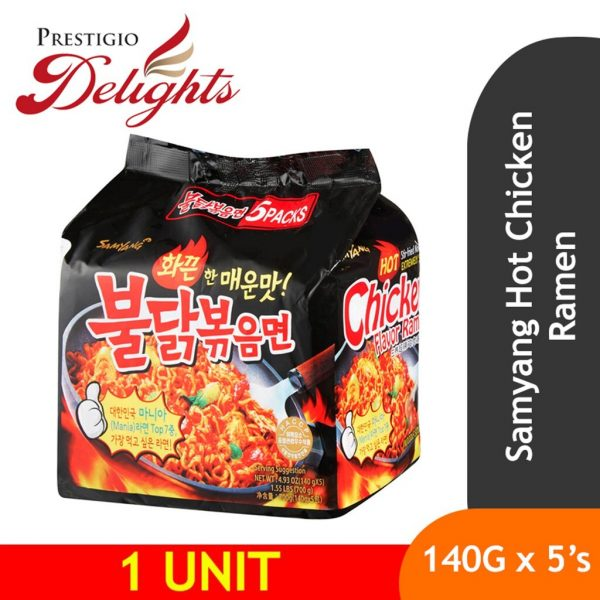 samyang hot chicken ramen spicy instant noodle korean