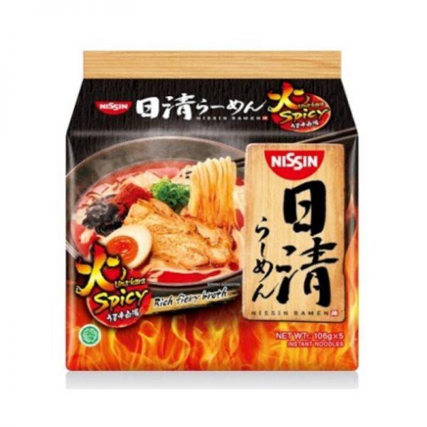 suan la fen spicy instant noodle nissin uma kara ramen