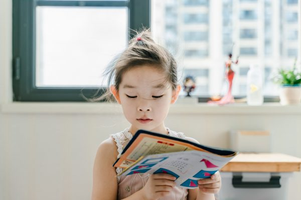 best children's book storybooks for kids girl reading windy