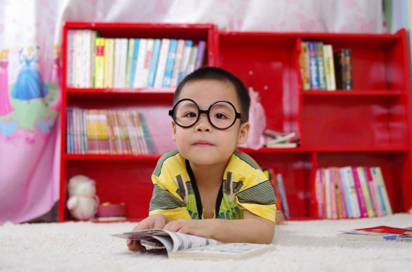 best children's book storybook for kids library at home spectacles