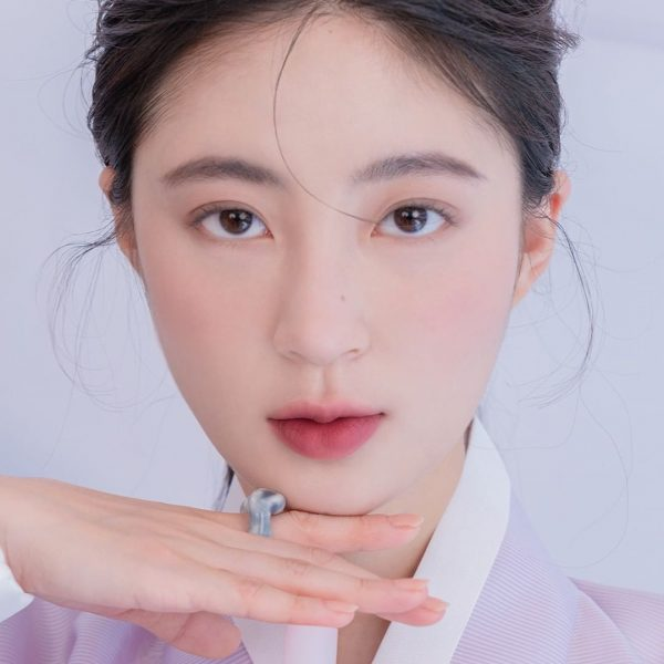 mauve lips romand hanbok series 10 blush purple korean makeup looks 2021