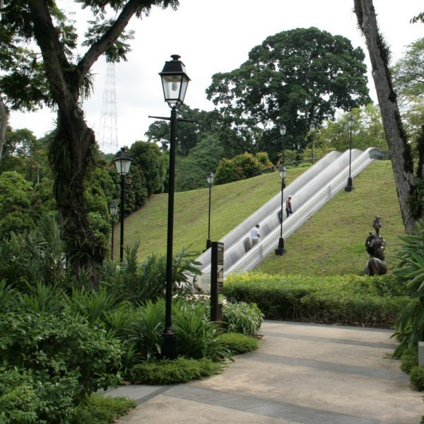 fort canning park historical places singapore