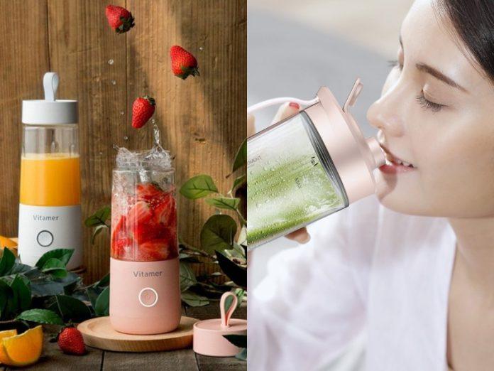 best blender for smoothies xiaomi deerma and vitamer usb juicer