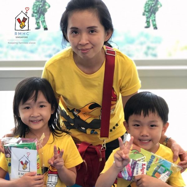 ronald mcdonald house charities singapore food donations singapore