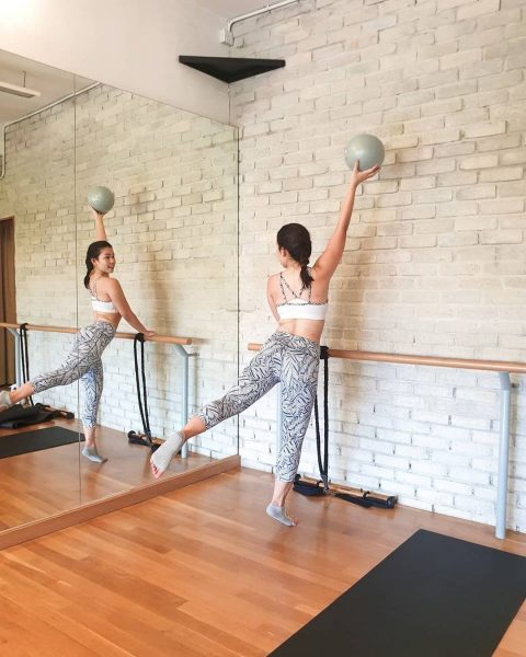 affordable activewear brands singapore funfit barre exercise low impact workout fitness apparel women