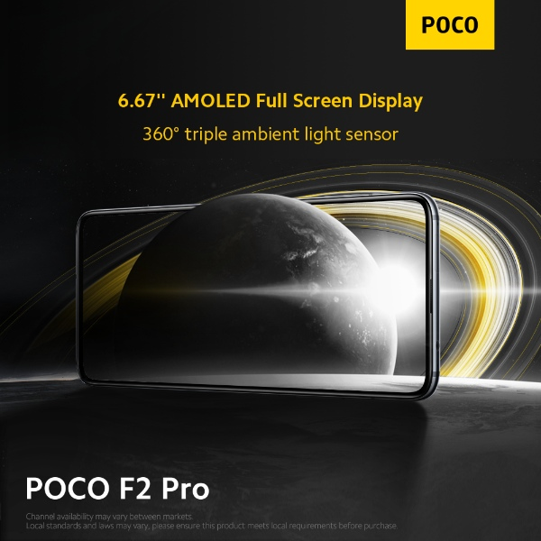 AMOLED display POCO F2 Pro singapore