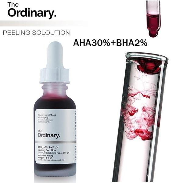 how to get glowing skin the ordinary aha bha chemical peel