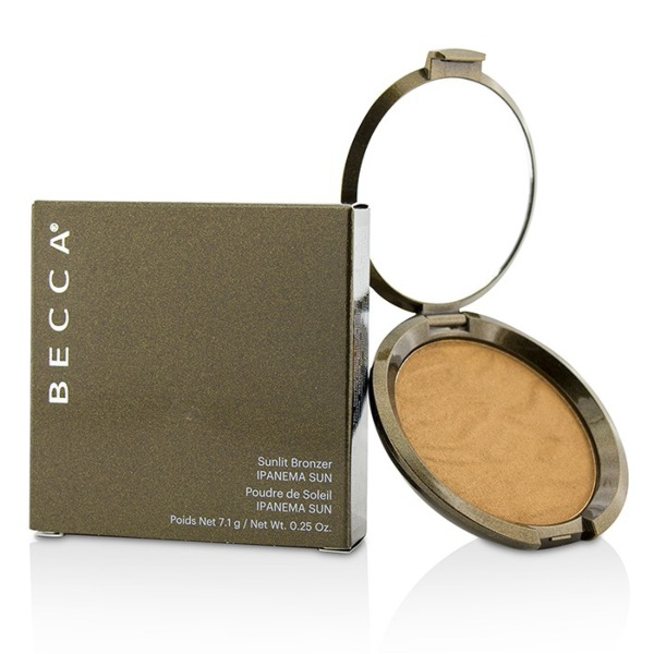 how to get glowing skin becca sunlit bronzer sparkly shimmer
