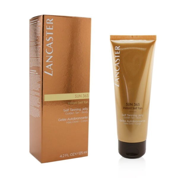 how to get glowing skin lancaster sun 365 self-tanning jelly summer skin