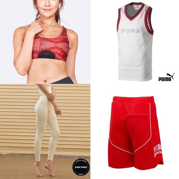 activewear workout clothes national day clothes sports bra yoga pants puma basketball tank top shorts