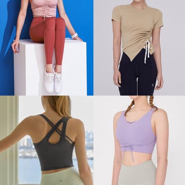 fashionable sportswear women korean fashion xexymix tights tops bras pastel