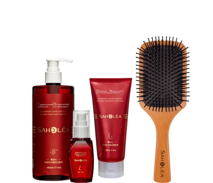 saholea quality evolution velvet xihu peony shampoo