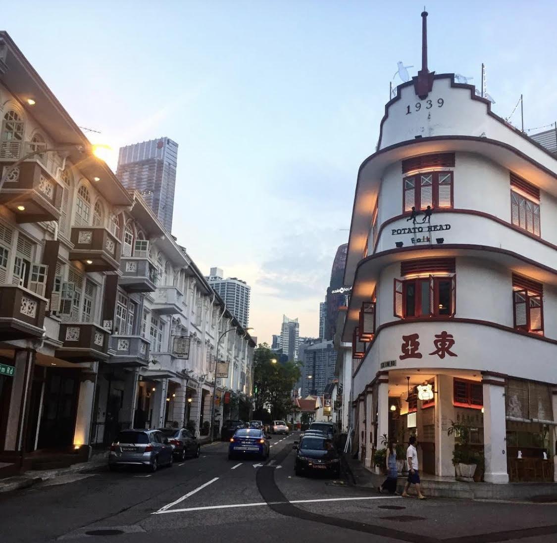 keong saik best neighbourhood in singapore tong ah building