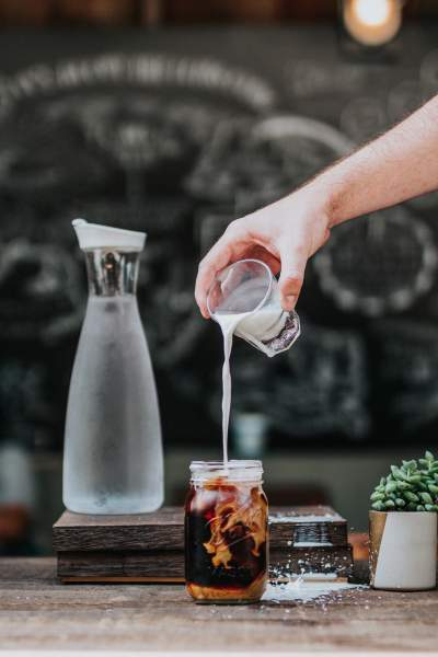 cold brew coffee with oat milk recipe