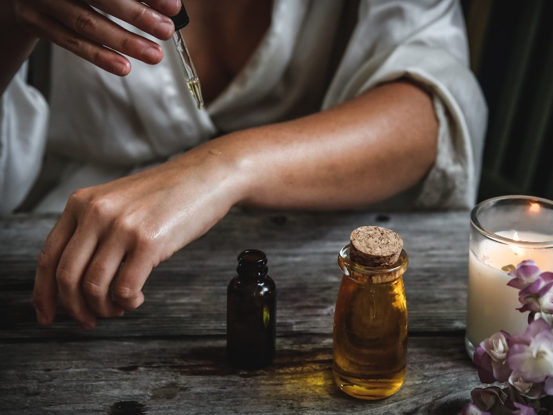 essential oil natural mosquito repellent