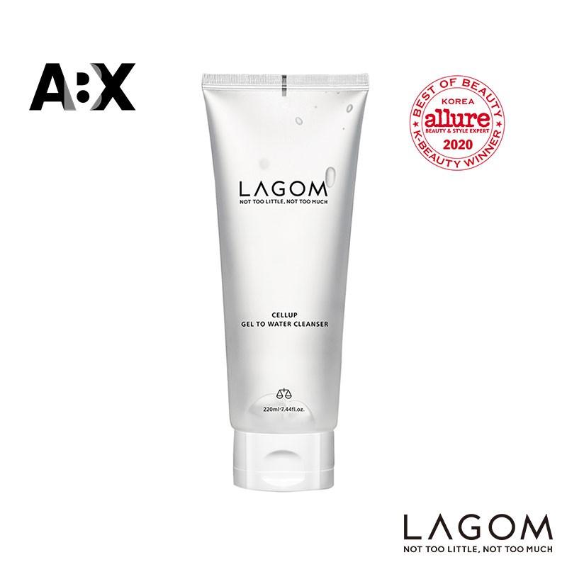 lagom gel to water cleanser best korean skin care