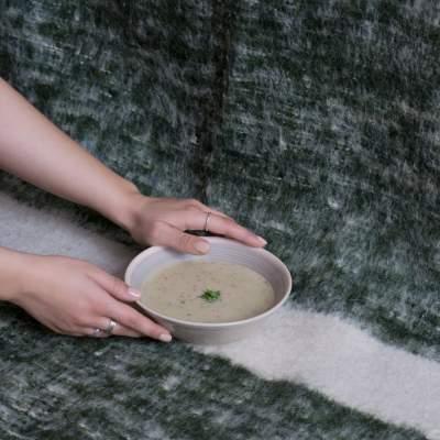 mushroom soup with oat milk recipe