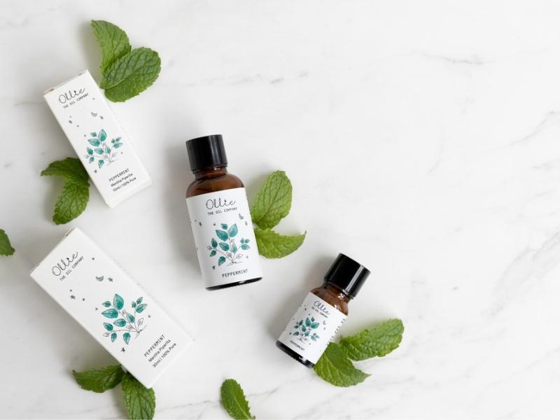 peppermint essential oil natural mosquito repellent