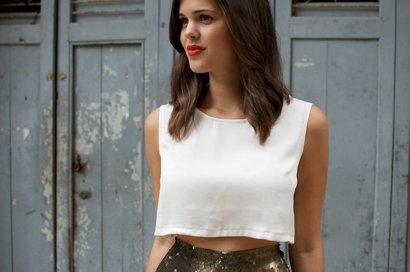 crop top upcycling clothes