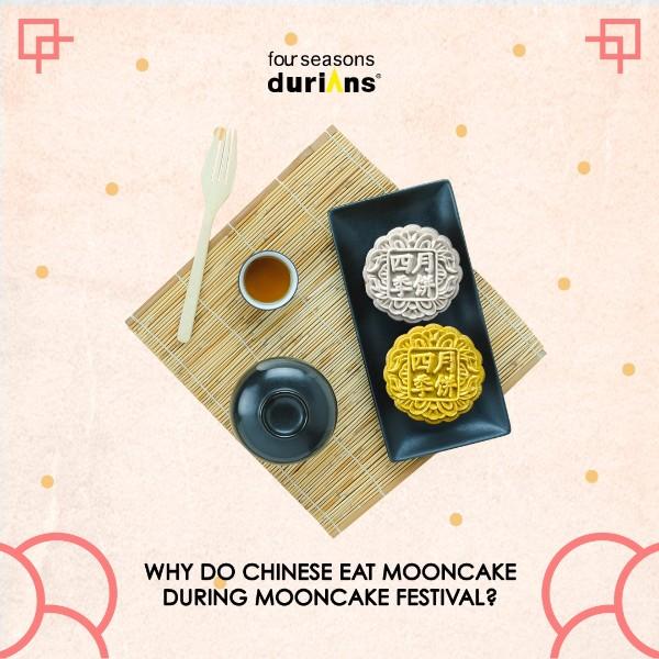best durian snowskin mooncake singapore 2020 mid autumn festival four seasons durian