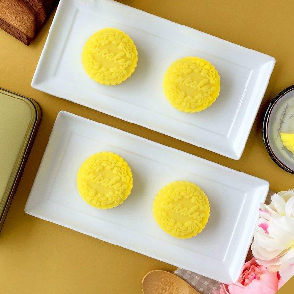 best durian snowskin mooncake singapore 2020 mid autumn festival emicakes cake shop