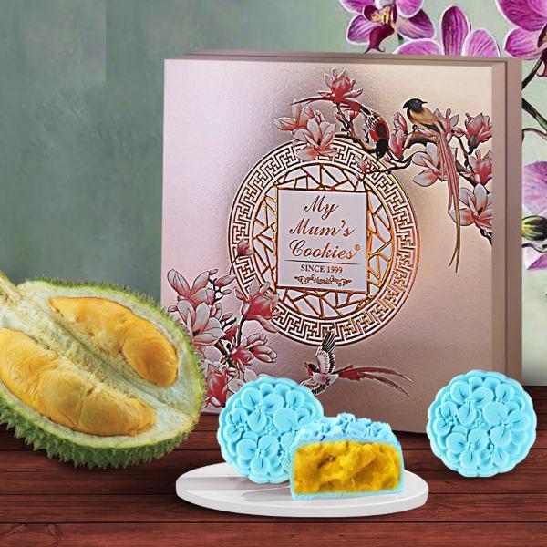 my mum's cookies mao shan wang durian mooncake gift set singapore snowskin