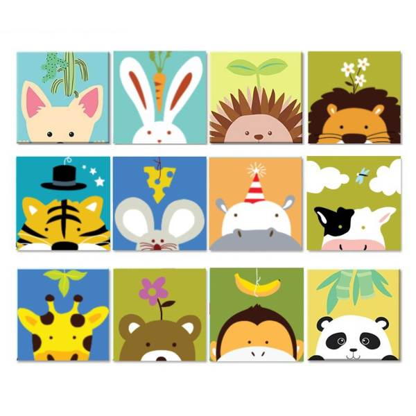 kids painting by numbers diy set childrens day gift ideas kids