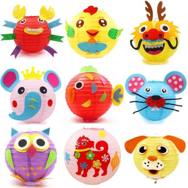 diy lantern ideas for kids animal kit