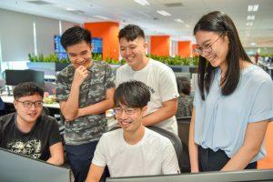 Shopee Data Engineers at work