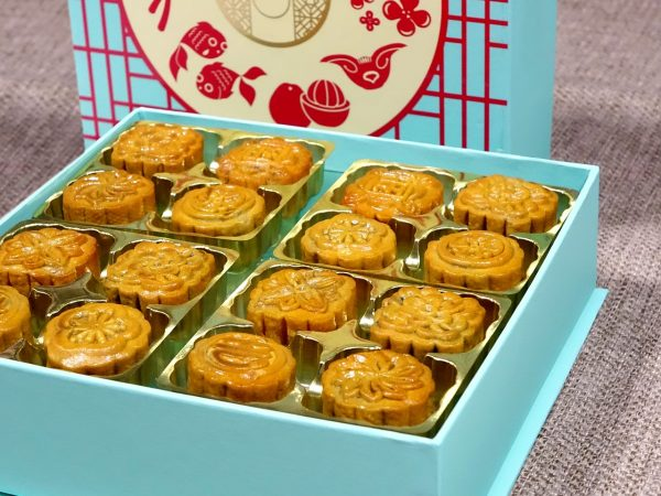Traditional Mooncakes in Singapore