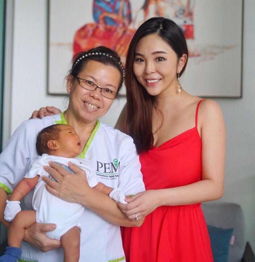 pem confirnement nanny singapore
