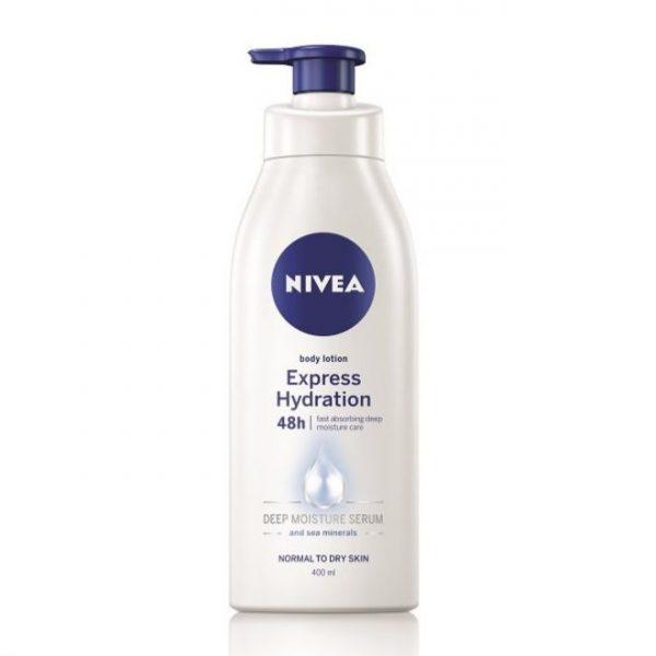 nivea body express hydration body lotion