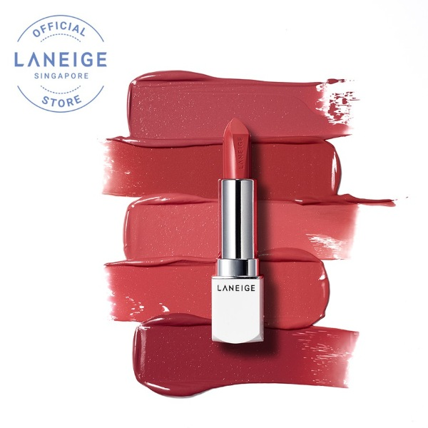 best laneige product silk intense lipstick rose collection