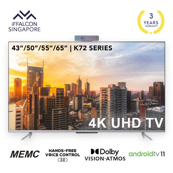 iffalcon 43 inch quhd k72 best android tv singapore