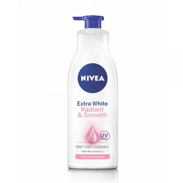 nivea extra white radiant and smooth body lotion
