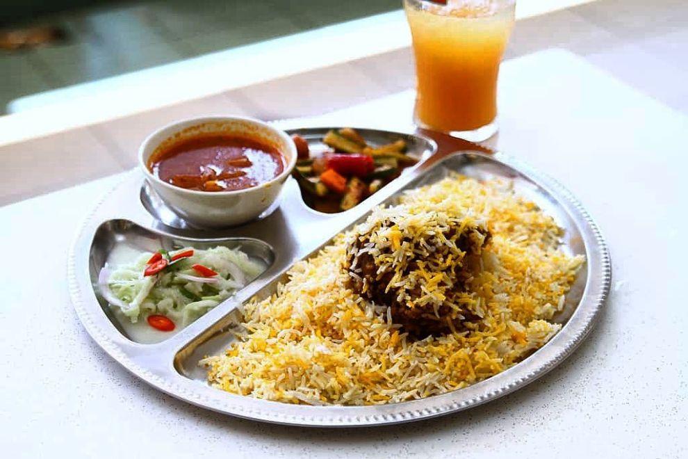 ali nachia biryani best biryani in singapore