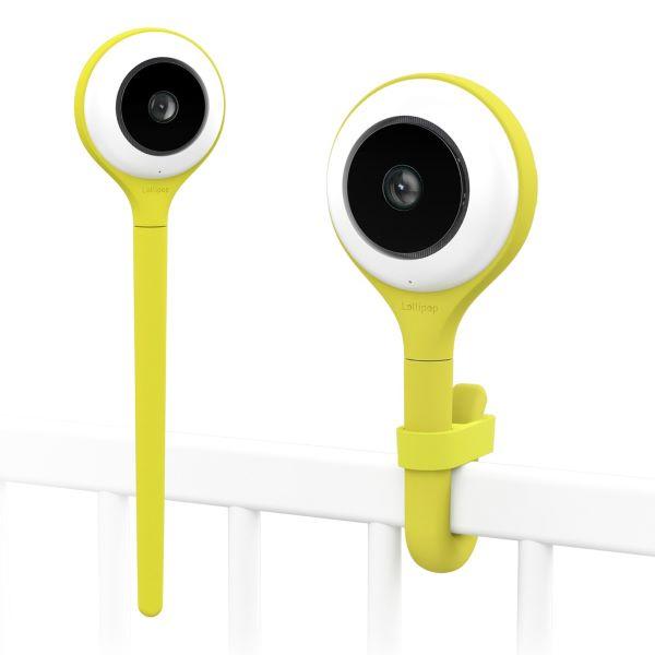 Lollipop Smart Wi-Fi Based Baby Camera yellow