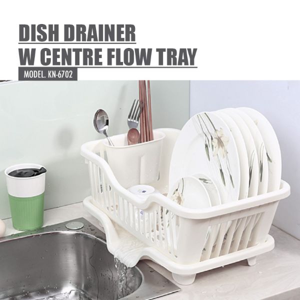 how to organise kitchen houze dish drainer