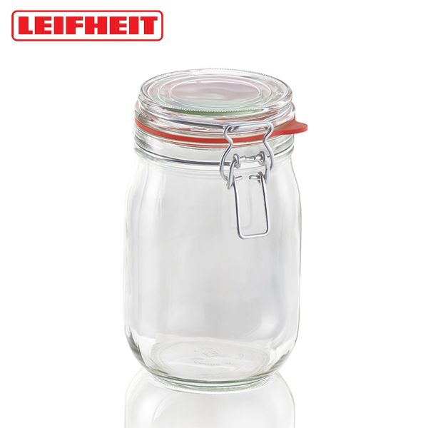 how to organise kitchen leifheit clip top jar