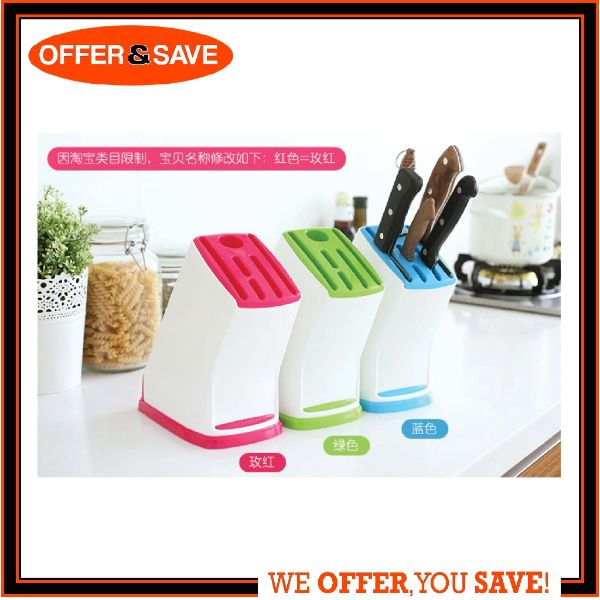 how to organise kitchen plastic knife rack (1)