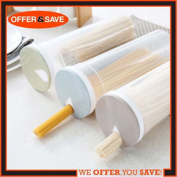 how to organise kitchen plastic spaghetti conatainer