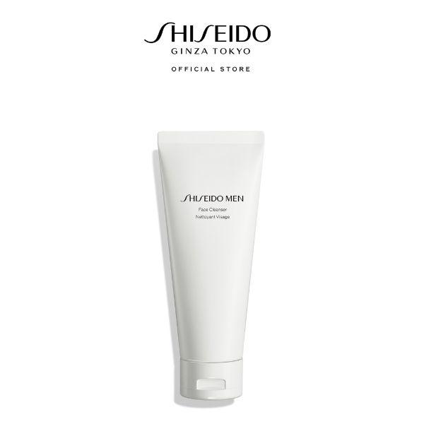 shiseido men facial cleanser skin care for men