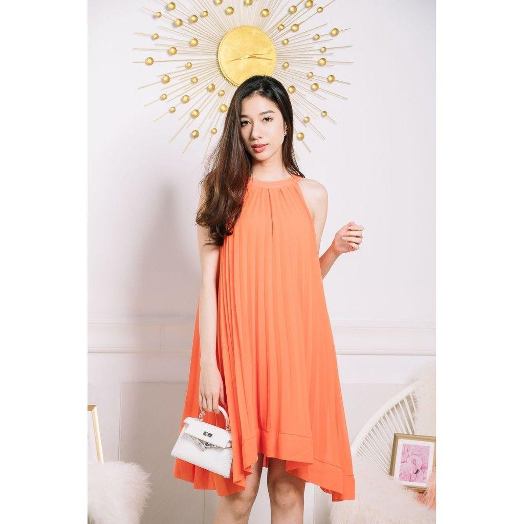 zenzi pleated dress best blog shops singapore