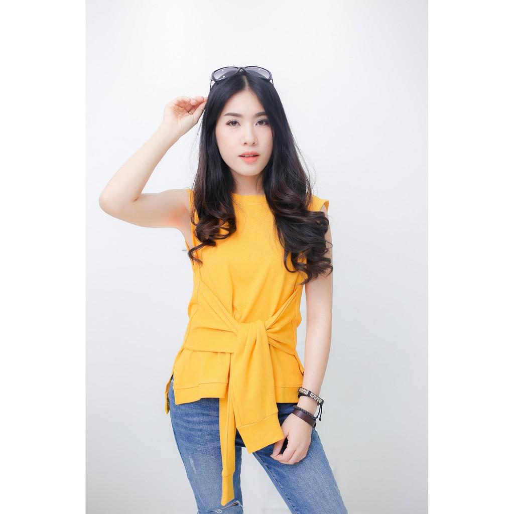 zenzi sleeveless top with bow best blog shops