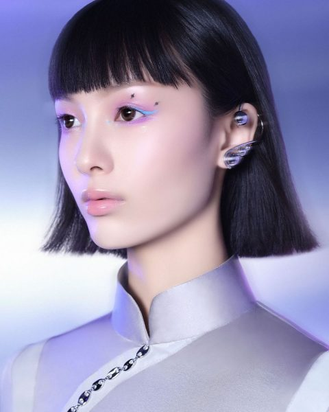 perfect diary zeesea review futuristic eye makeup look creative