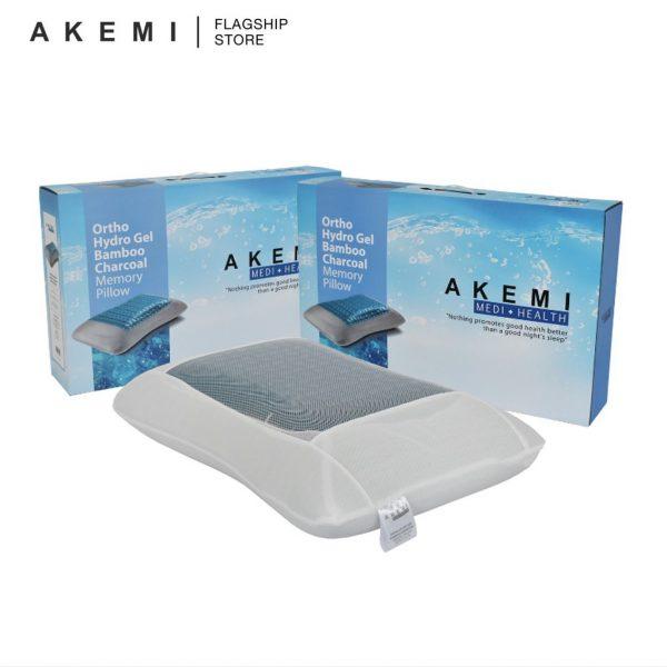 akemi medi health ortho hydro gel bamboo charcoal memory pillow how to improve sleep quality