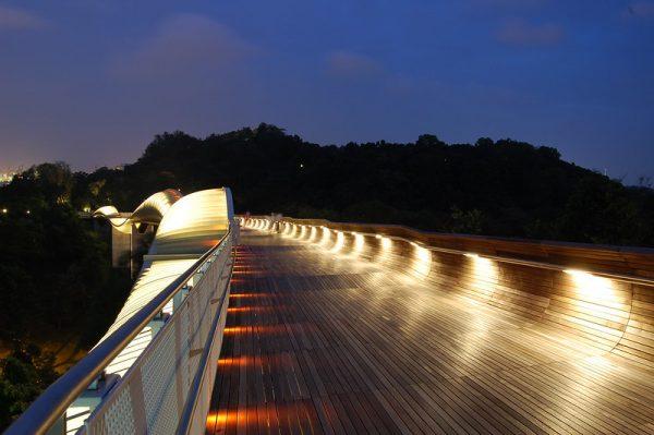 picnic places singapore henderson waves bridge evening picnic romantic